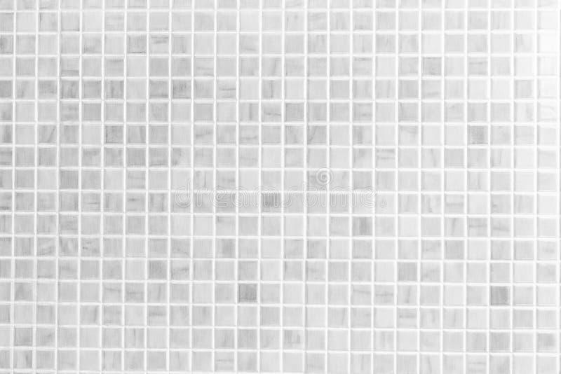 Parede da telha do vintage, fundo da parede do banheiro do projeto da casa fotografia de stock