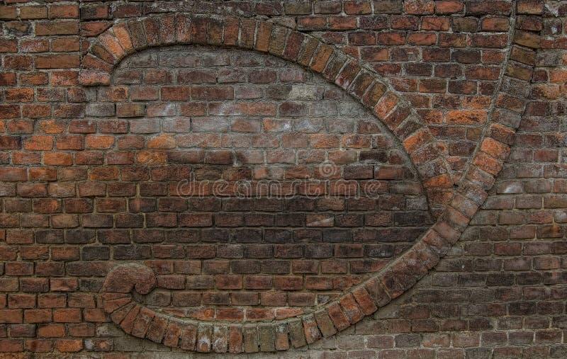 Parede de alvenaria do tijolo imagem de stock