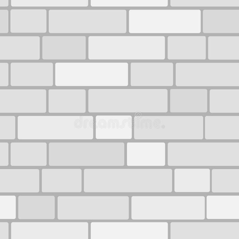 Parede de Bricken ilustração royalty free