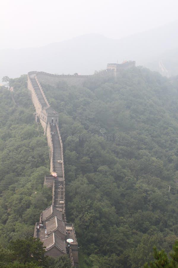 A parede de China imagens de stock