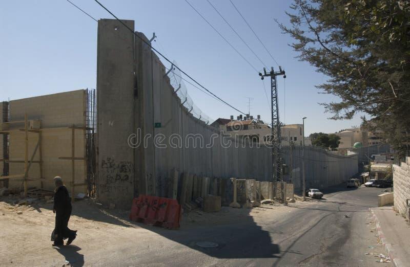 Parede de Gerusalem fotografia de stock
