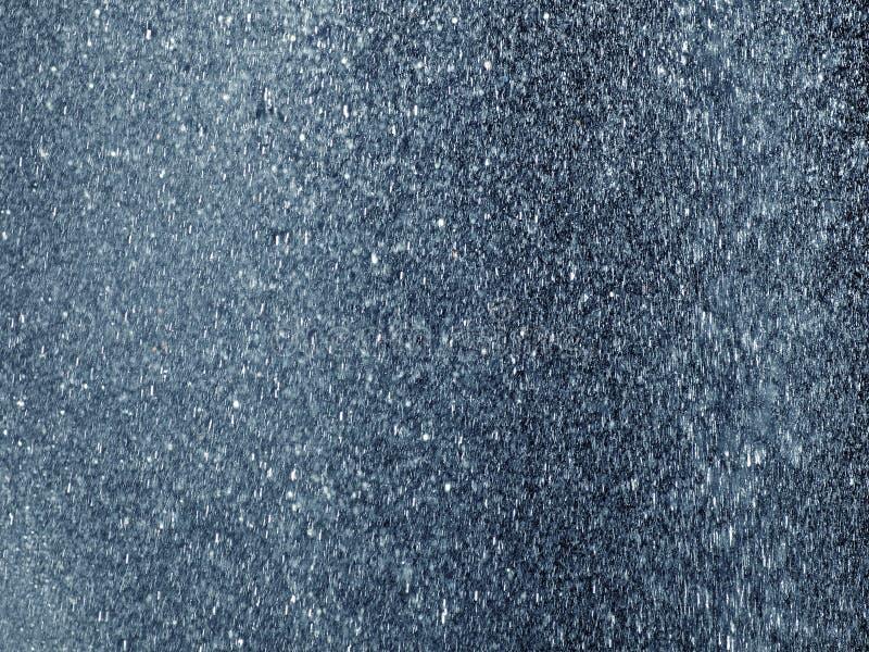 Parede de gotas de água de queda imagem de stock