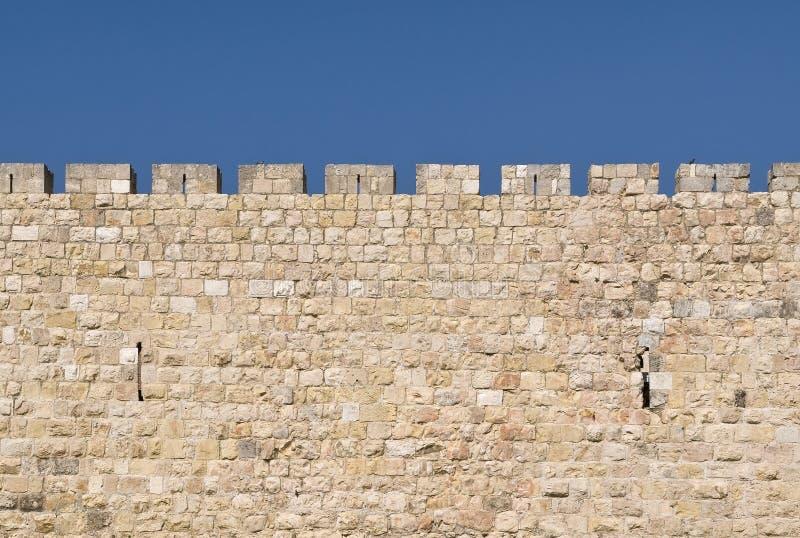 Parede de Jerusalem foto de stock