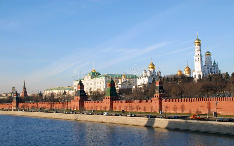Parede de Kremlin imagem de stock