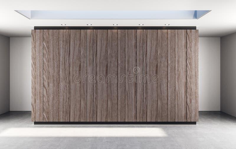 Parede de madeira abstrata foto de stock royalty free