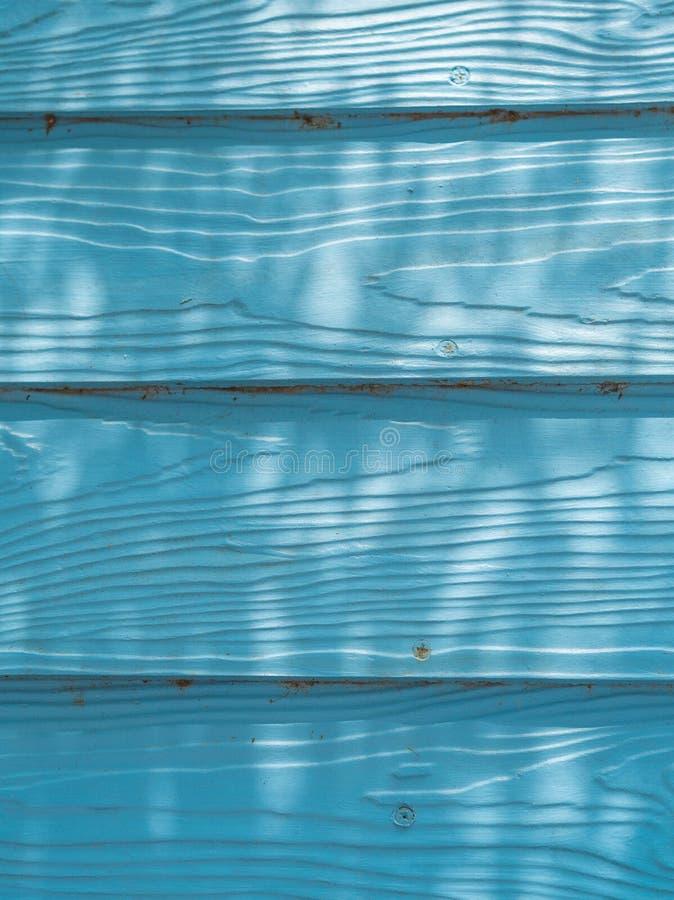 Parede de madeira azul fotos de stock