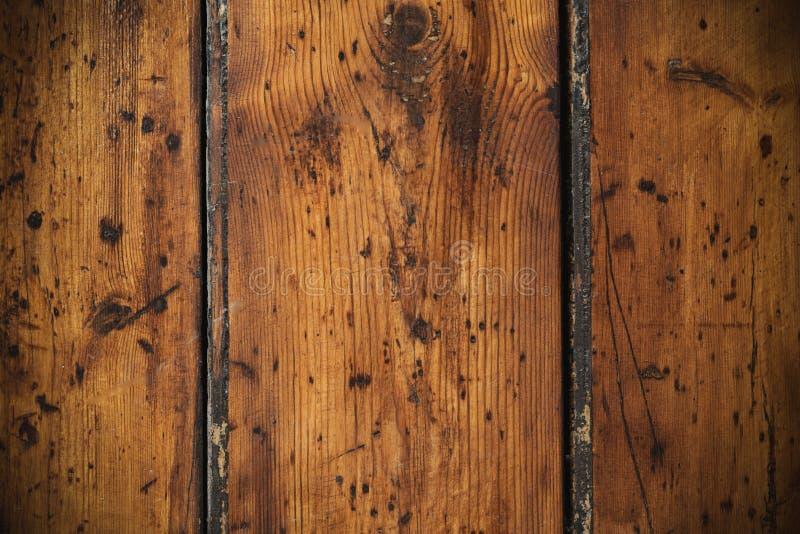 Parede de madeira do sumário e do dano imagens de stock