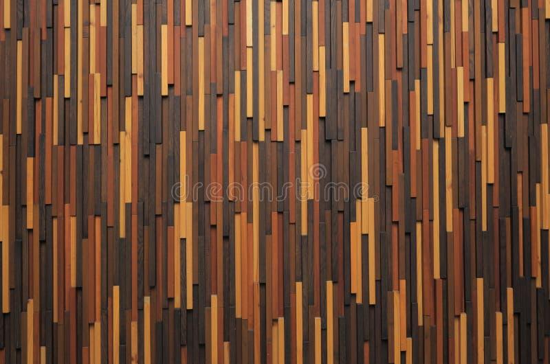 Parede de madeira moderna da textura imagens de stock royalty free