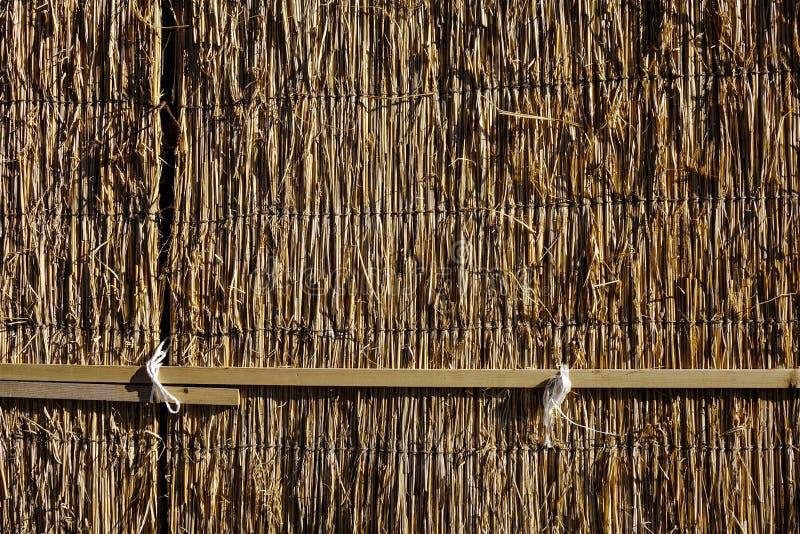 Parede de madeira na casa rural japonesa fotos de stock royalty free