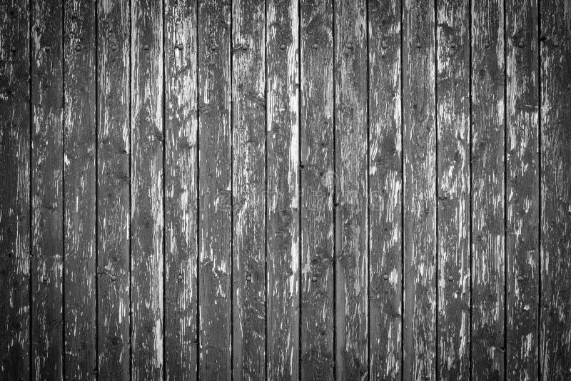 Parede de madeira preta com vinheta imagens de stock royalty free