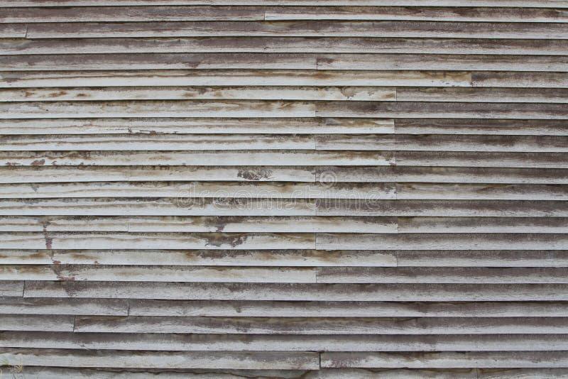 Parede de madeira rústica imagem de stock