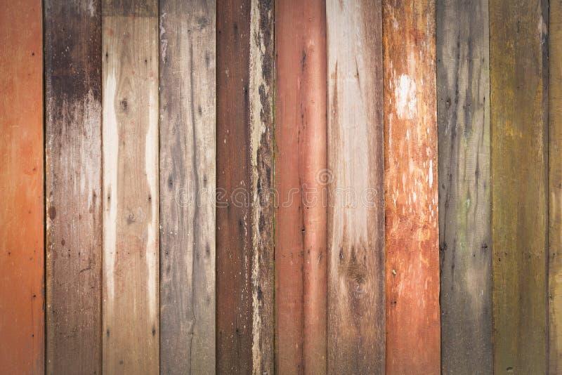 Parede de madeiras velhas fotos de stock
