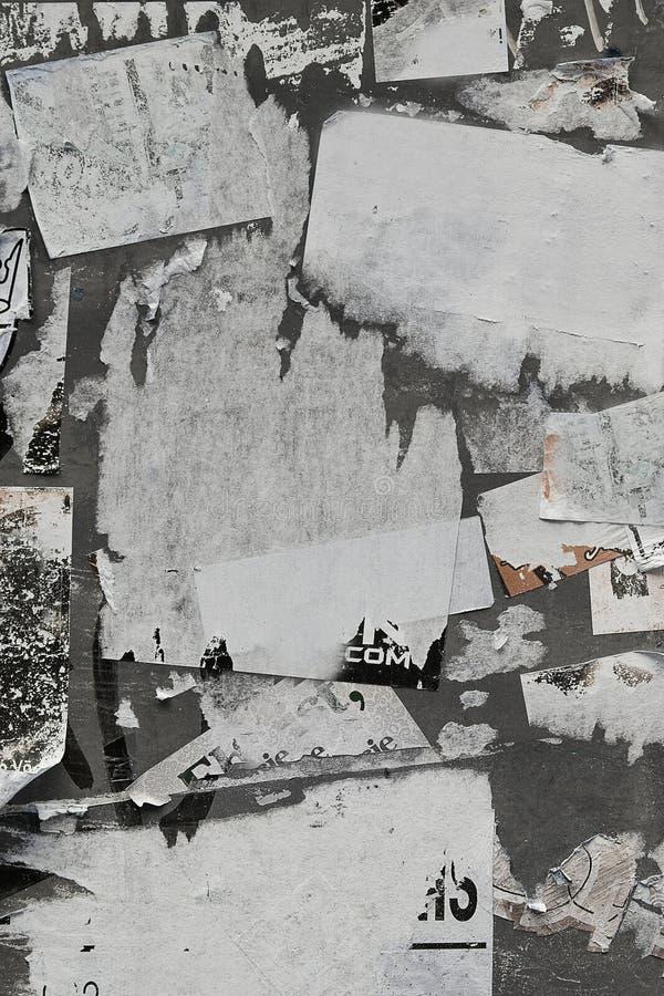Parede de papel rasgada imagens de stock