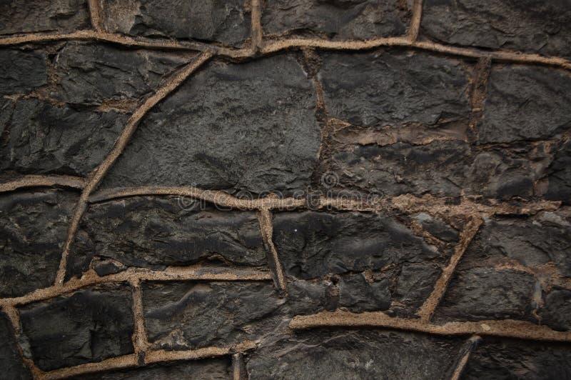 Parede de pedra fotografia de stock