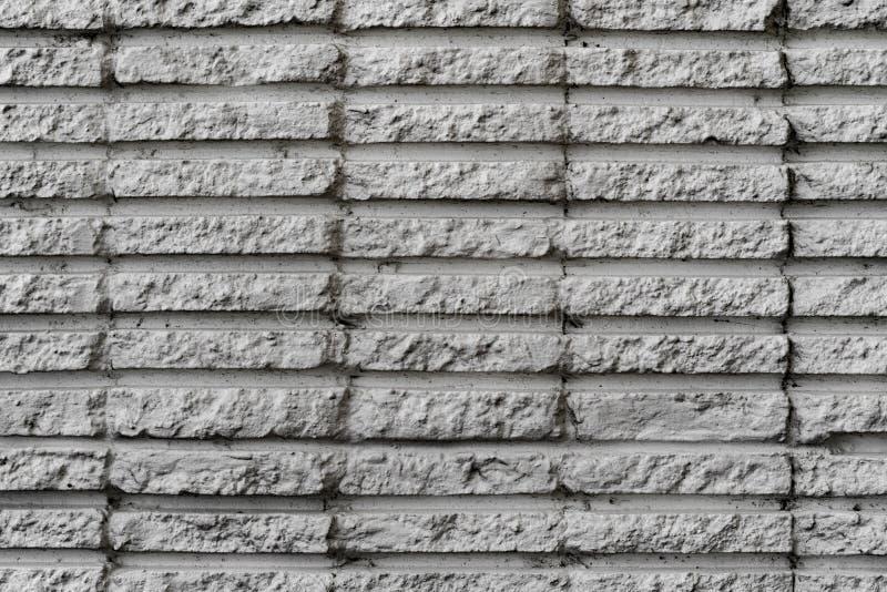 Parede de pedra branca pintada imagens de stock