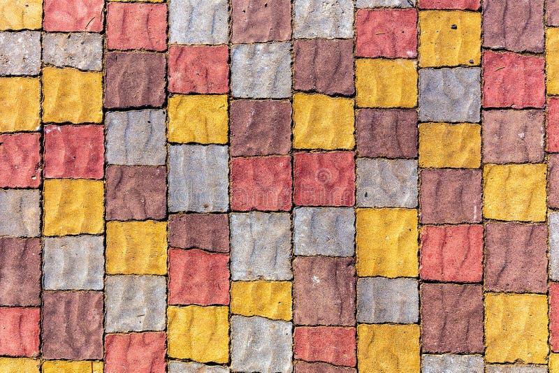 Download Parede De Pedra Colorida Do Bloco Imagem de Stock - Imagem de nave, arte: 107525609