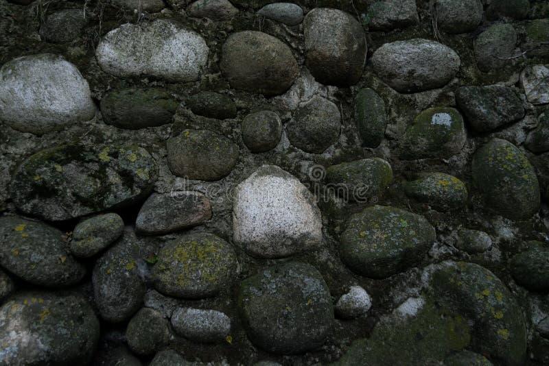 Parede de pedra, parede da rocha, papel de parede imagem de stock