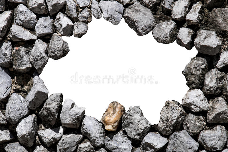 Parede de pedra e espaço branco para o texto fotografia de stock