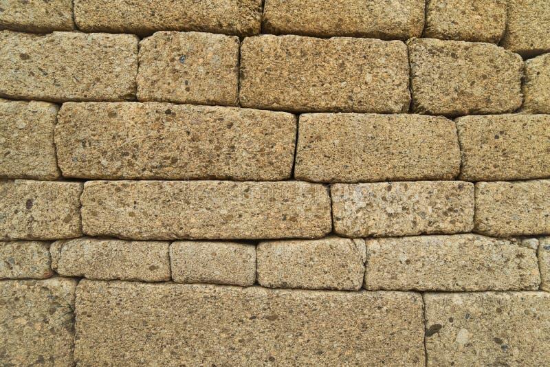 Parede de pedra Pedras empilhadas imagens de stock royalty free