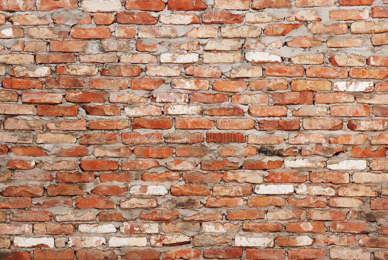 Download Parede de tijolo foto de stock. Imagem de retângulo, macro - 10065806