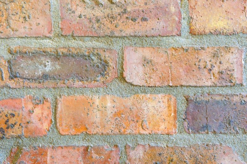 Parede de tijolo abstrata fotografia de stock