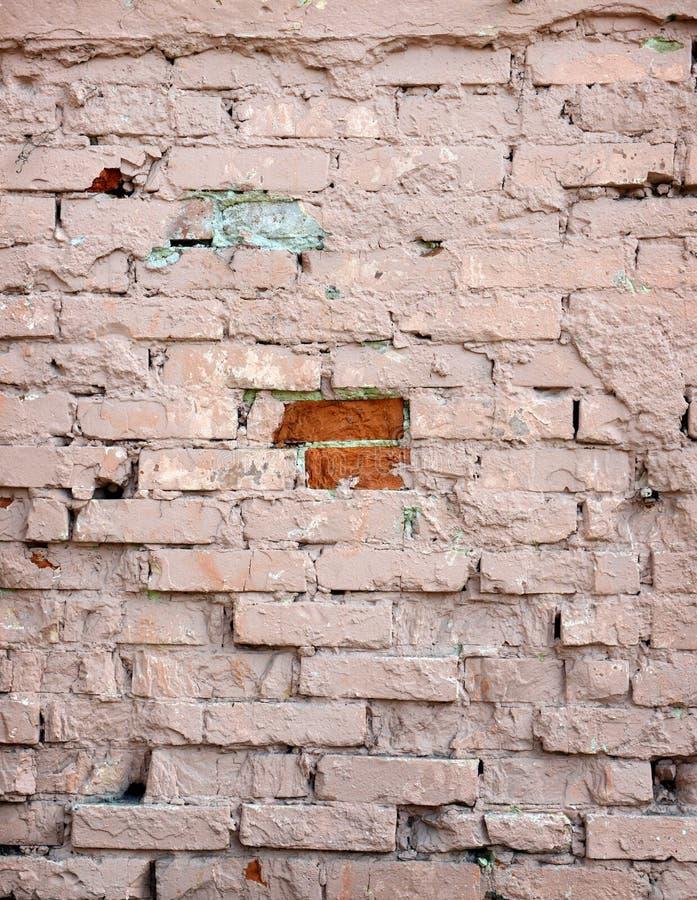 Parede de tijolo antiga, fundo, textura imagem de stock royalty free