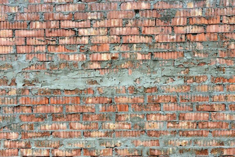 Parede de tijolo antiga, fundo, textura imagem de stock