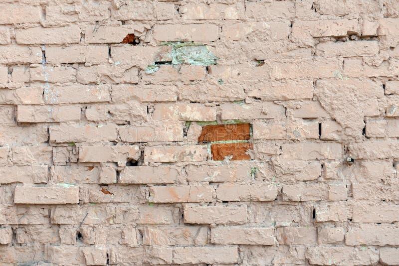 Parede de tijolo antiga, fundo, textura fotos de stock