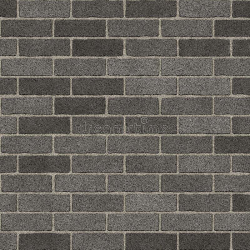 Parede de tijolo cinzenta áspera foto de stock royalty free