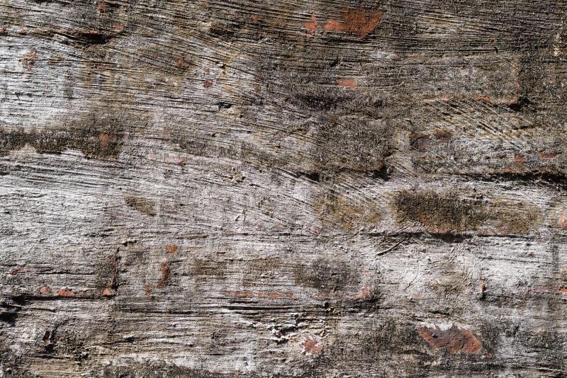 Parede de tijolo com cimento fino foto de stock