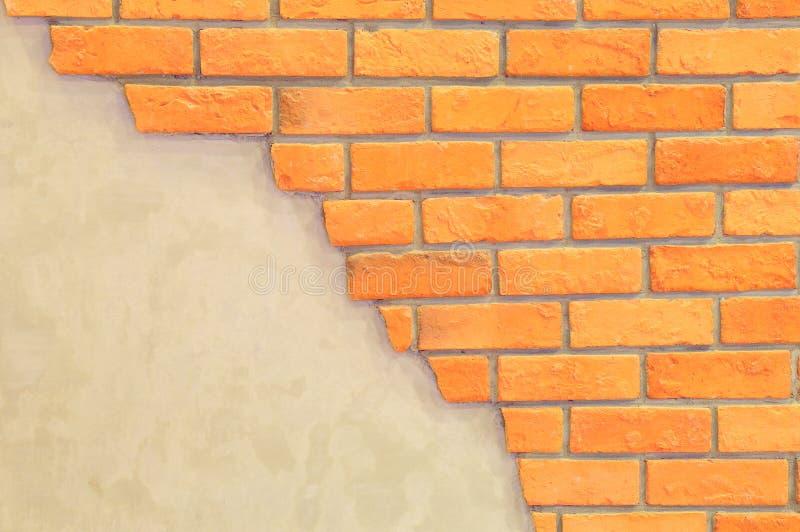 Parede de tijolo com espaço para o texto foto de stock royalty free