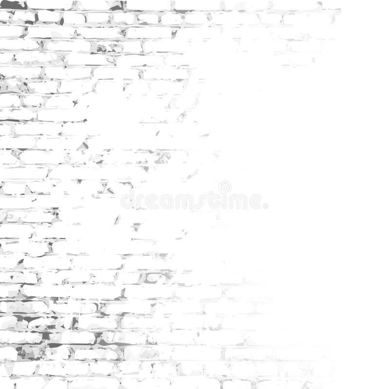 Parede de tijolo com espaço vazio ilustração stock