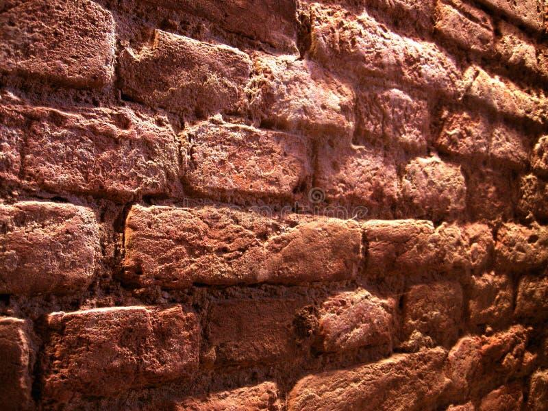 Parede de tijolo da perspectiva imagens de stock royalty free