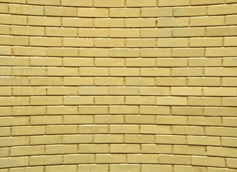 Parede de tijolo distorcida fotografia de stock royalty free