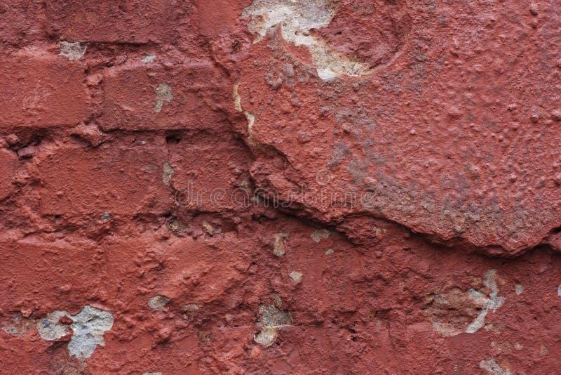 Parede de tijolo do Grunge, fundo textured altamente detalhado fotos de stock royalty free