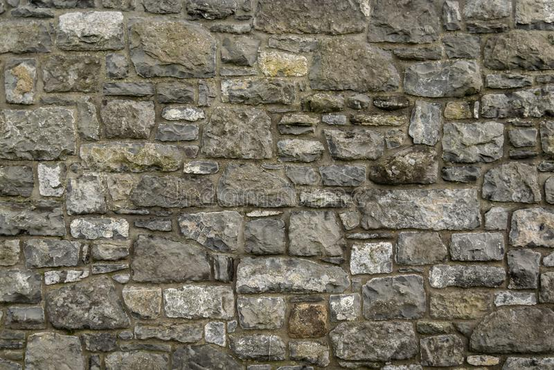 Parede de tijolo de pedra abstrata fotos de stock royalty free
