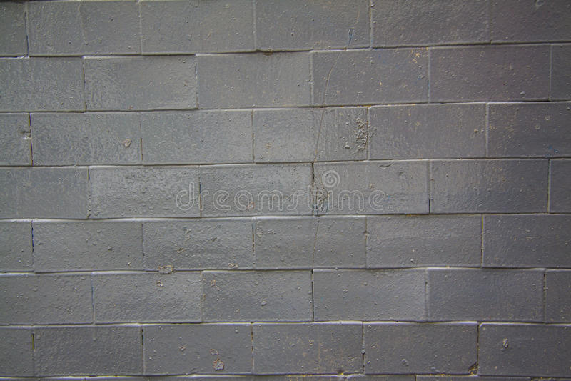 Parede de tijolo preta - nova fotografia de stock