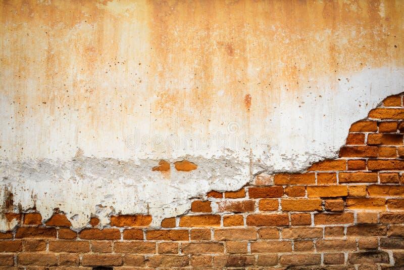 Parede de tijolo velha fotografia de stock