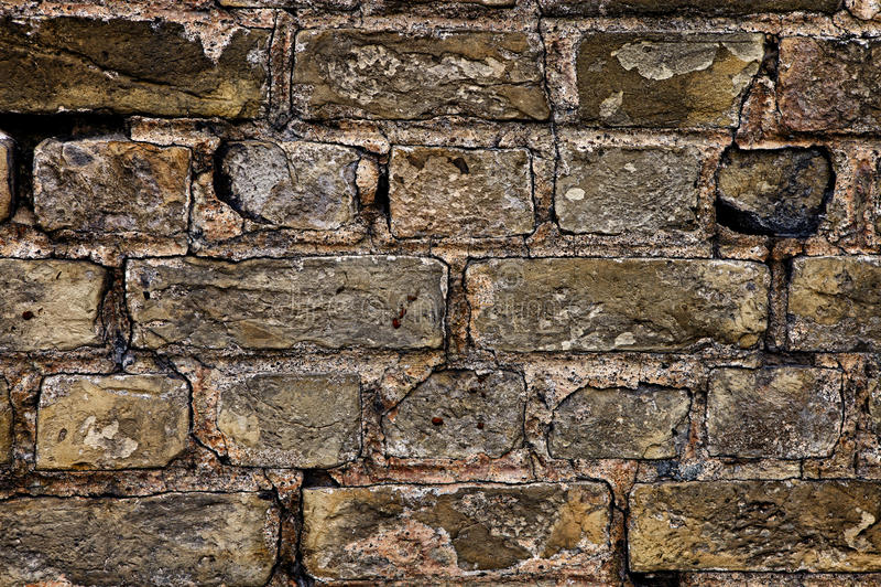 Download Parede de tijolo velha foto de stock. Imagem de horizontal - 29839008