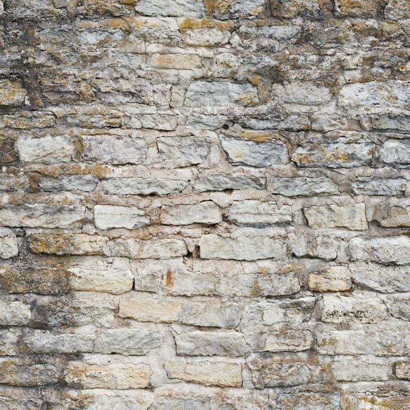 Parede de tijolo velha do castelo fotos de stock