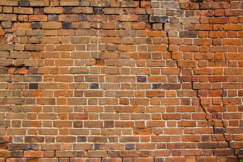 Parede de tijolo velha Fundo imagem de stock royalty free