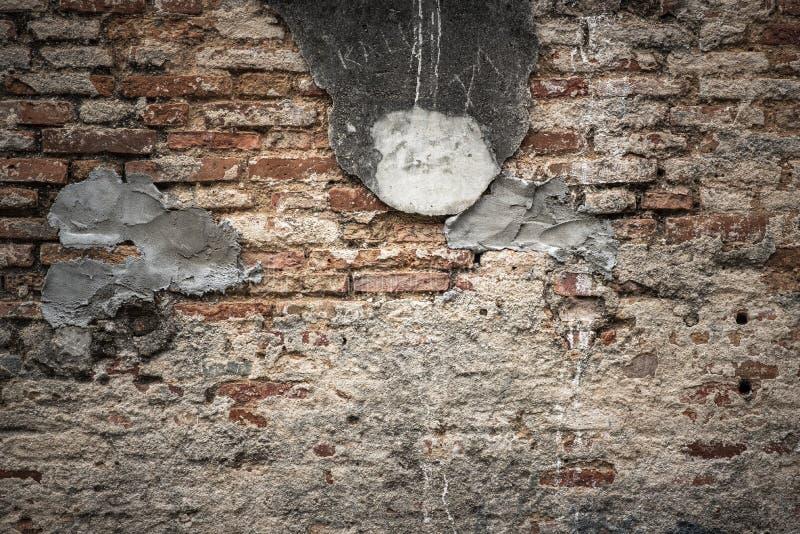parede de tijolo velha, fundo abstrato da textura no vintage para filtrar a fotografia de stock