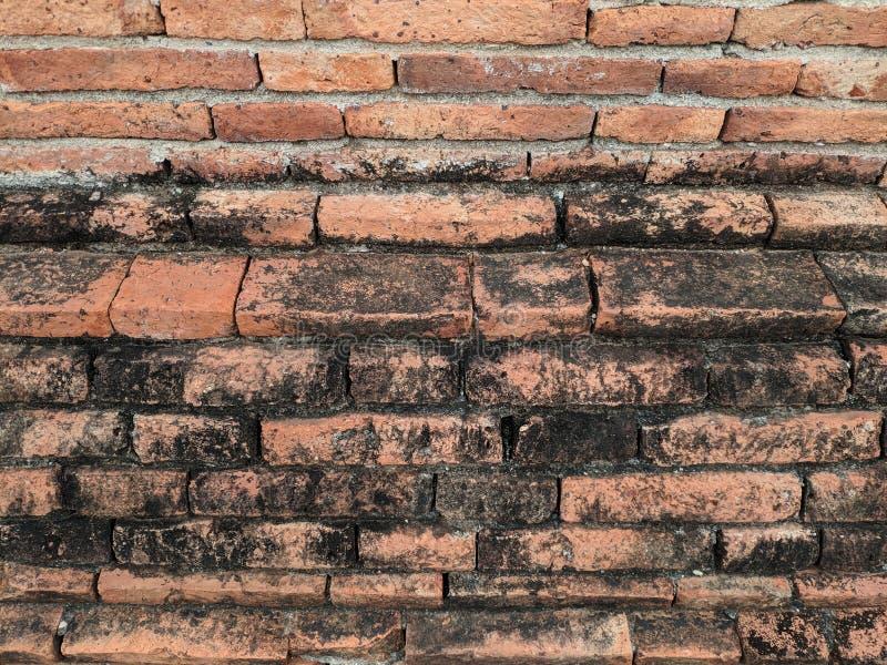 Parede de tijolo velha para o fundo imagem de stock