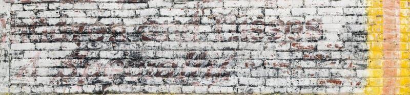 Parede de tijolo velha para o fundo imagens de stock royalty free