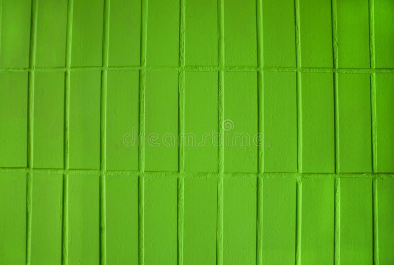 Parede de tijolo verde para o fundo foto de stock
