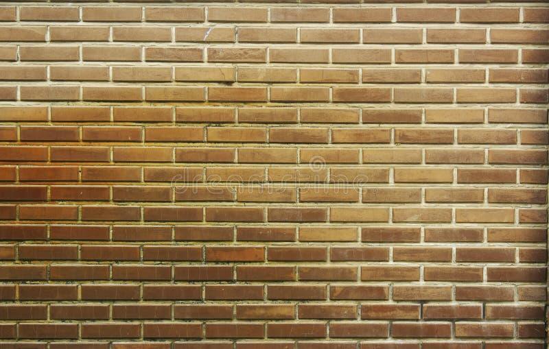 A parede de tijolo vermelha, marrom textured o fundo foto de stock royalty free