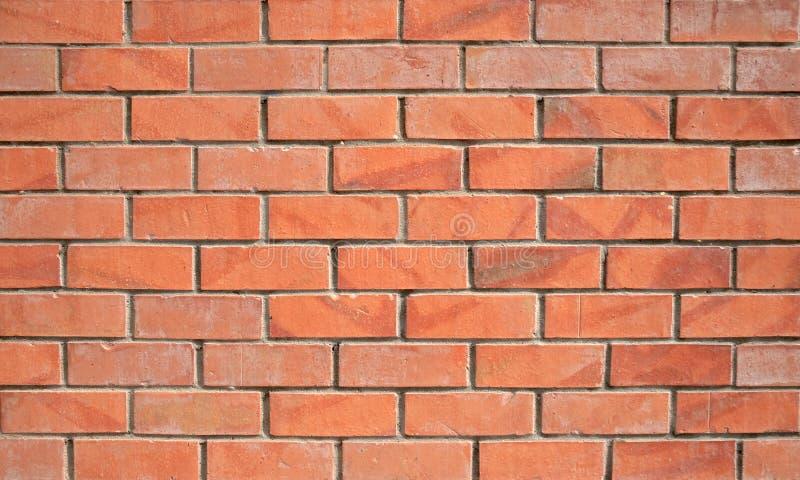 Parede de tijolo vermelho imagens de stock