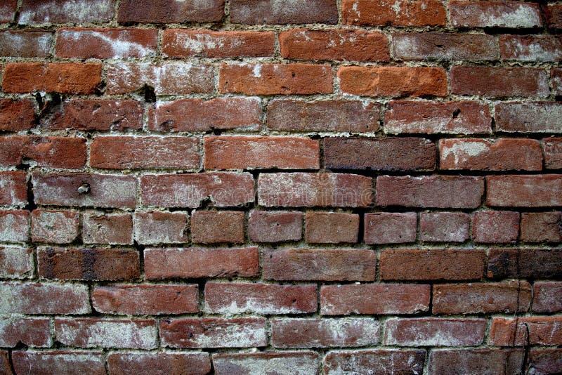 Parede de tijolo vermelho, fundo imagens de stock