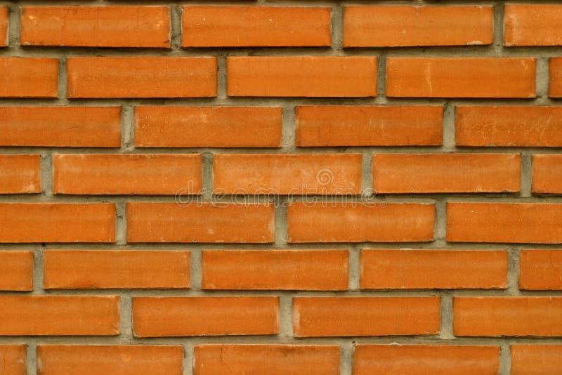 Parede de tijolo vermelho para o fundo desktop fotografia de stock