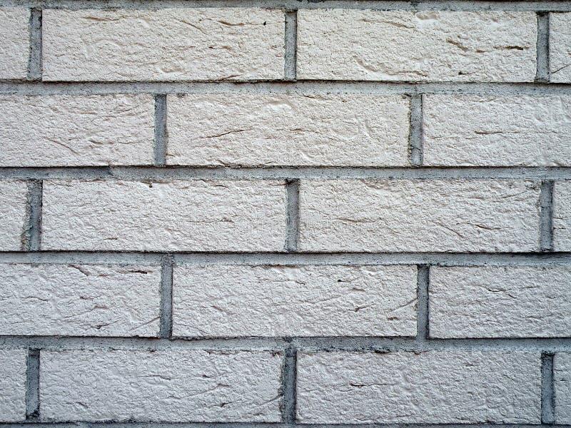 Parede de tijolos branca foto de stock royalty free
